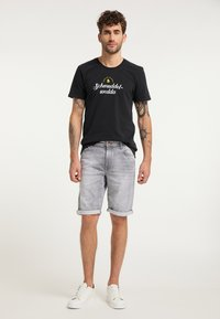 Schmuddelwedda - T-SHIRT - Print T-shirt - schwarz - 1