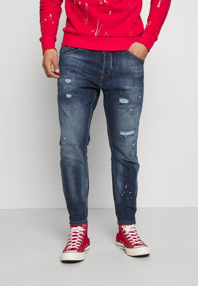 ALEX - Jeans Tapered Fit - dark blue denim