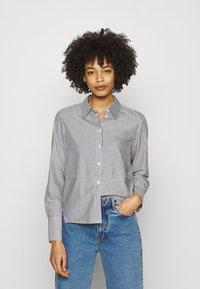 someday. - ZTELLA  - Button-down blouse - black - 0