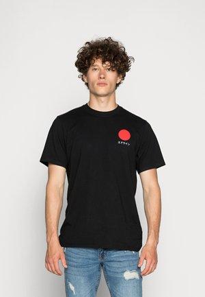 JAPANESE SUN UNISEX - Print T-shirt - black