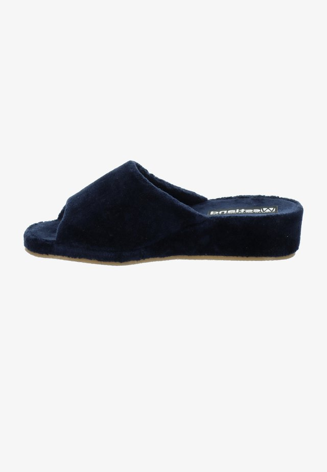 MARSEILLE - Mules - dunkelblau
