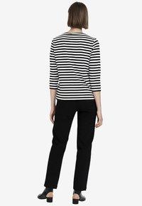 Marimekko - ILMA - Long sleeved top - white/black - 2