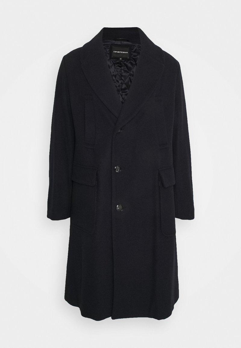 Emporio Armani - Classic coat - dark blue