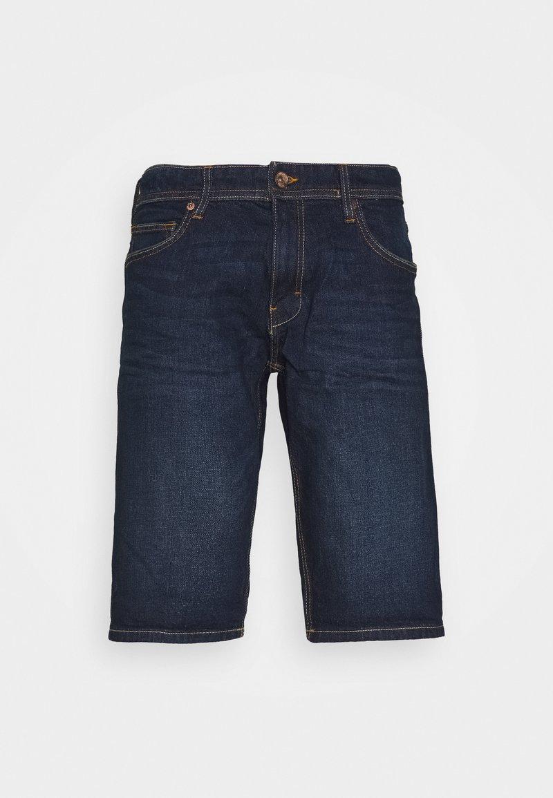 Esprit - Denim shorts - blue dark wash