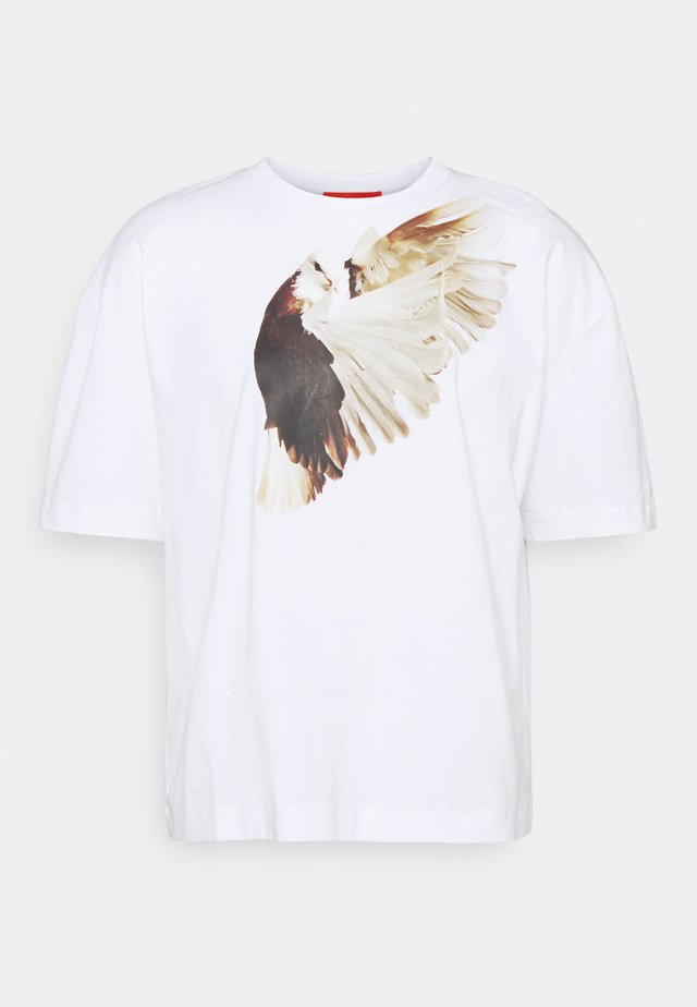SPIRIT BIRD ROE ETHRIDGE - T-shirt con stampa - white
