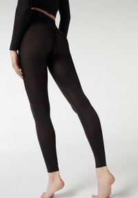 Calzedonia - BLICKDICHTE SOFT TOUCH TOTAL COMFORT LEGGINGS - Tights - black - 1