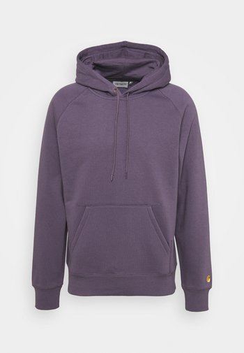HOODED CHASE  - Hoodie - provence/gold