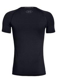 Under Armour - HEATGEAR - Print T-shirt - black - 1
