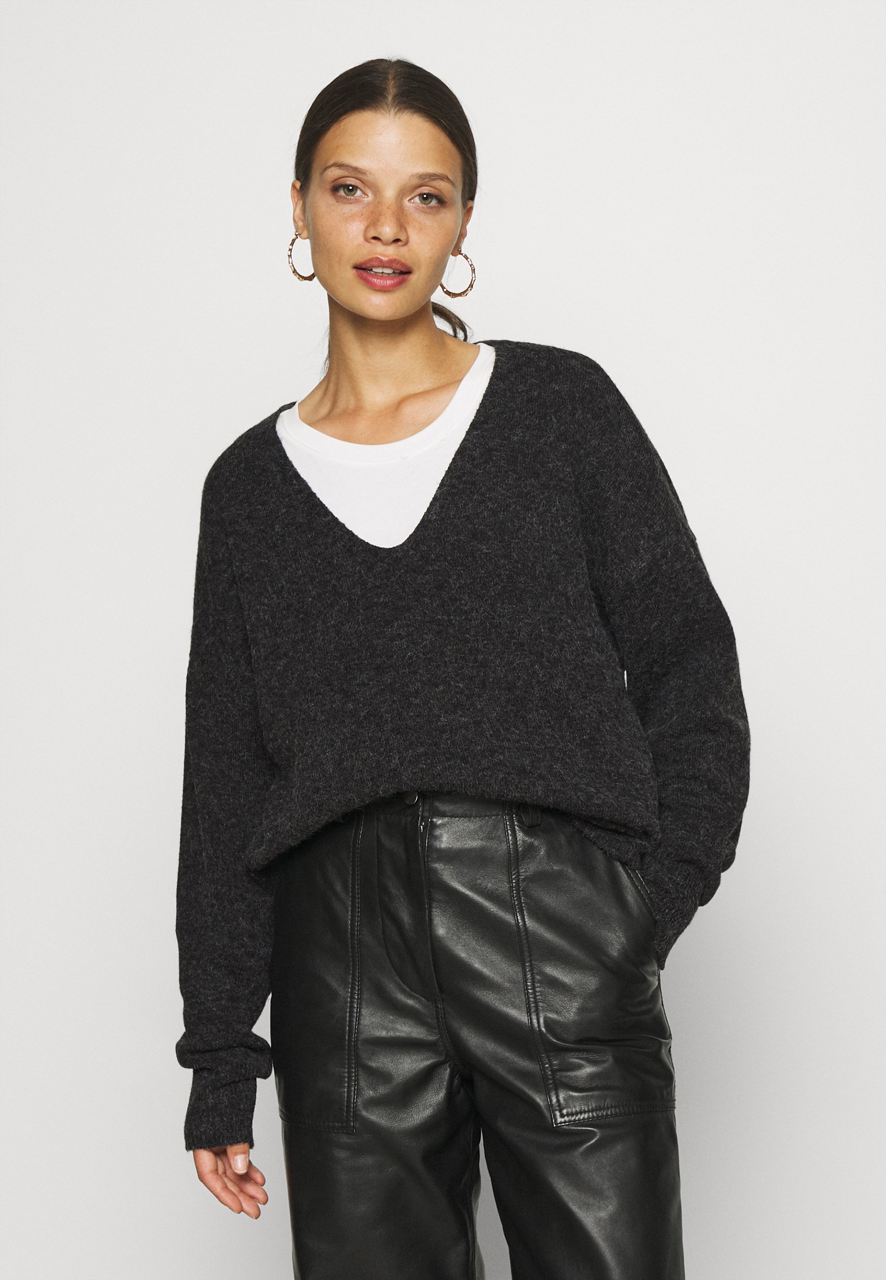 Femme VMDOFFY V-NECK - Pullover