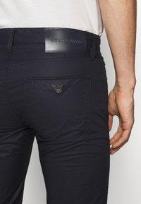 Emporio Armani - POCKETS PANT - Trousers - dark blue - 3