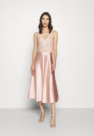 ALEXA SOFIE MIDI DRESS - Cocktailkjole - nude