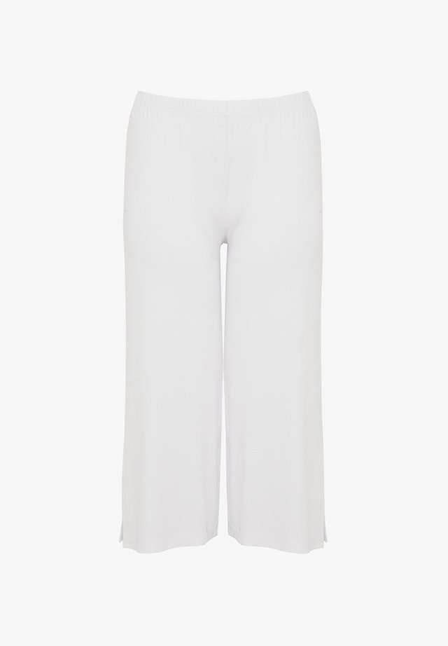 7/8 - Trousers - white