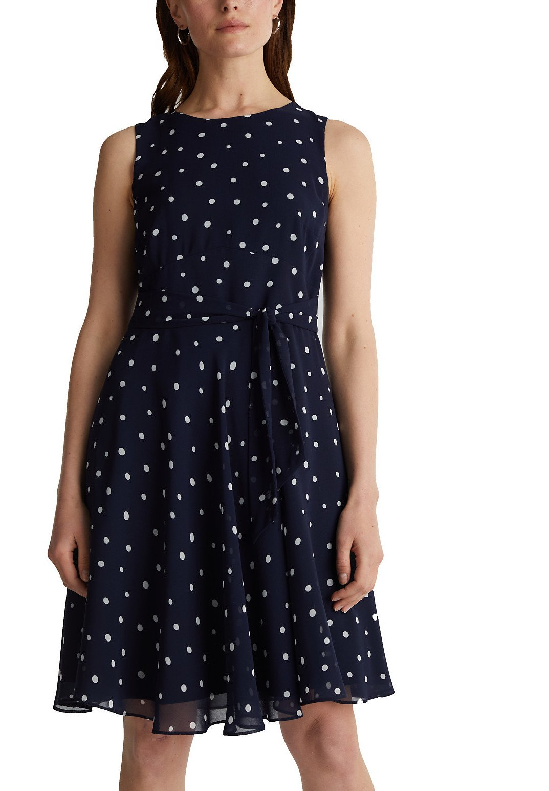 Order Limit Discount Women's Clothing Esprit Collection LUX FLUID Day dress navy 3 bIH4cCVKT wyEMu7HlW