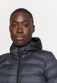Salomon - SIGHT STORM HOODIE  - Winter coat - ebony - 3