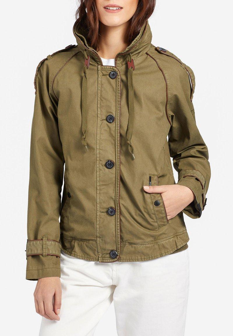khujo - STACEY - Light jacket - khaki