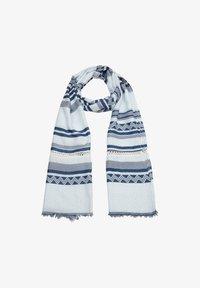 s.Oliver - Scarf - blue stripes - 0
