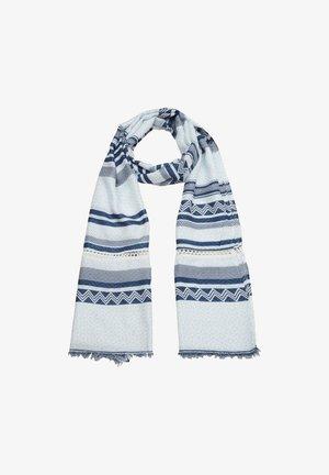 Scarf - blue stripes