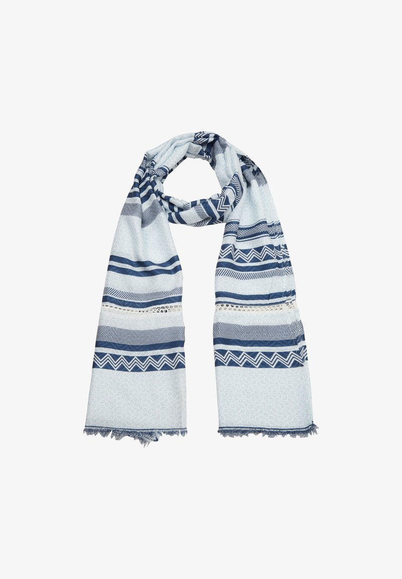 s.Oliver - Scarf - blue stripes