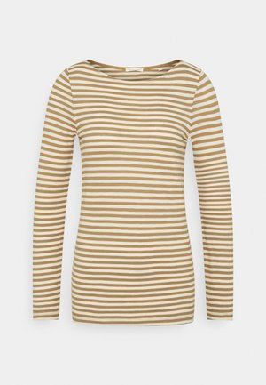 LONG SLEEVE NECK - Long sleeved top - mutli/sandy beach