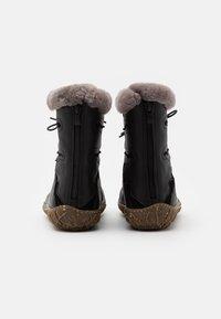 El Naturalista - NIDO - Winter boots - black - 3