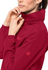 Jack Wolfskin - Hardshell jacket - scarlet - 2