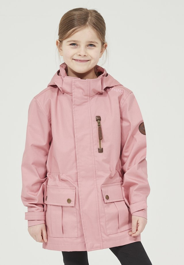 FISHER  - Winter coat -  dusty rose