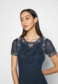 Lace & Beads - FREYA WRAP MAXI - Occasion wear - navy - 3