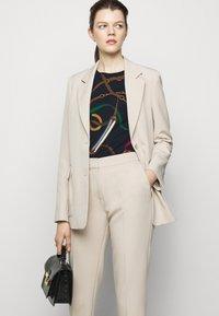Lauren Ralph Lauren - T-shirt imprimé - navy/multi-coloured - 4