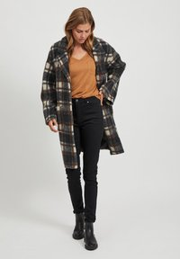 Object - Classic coat - chicory coffee - 4