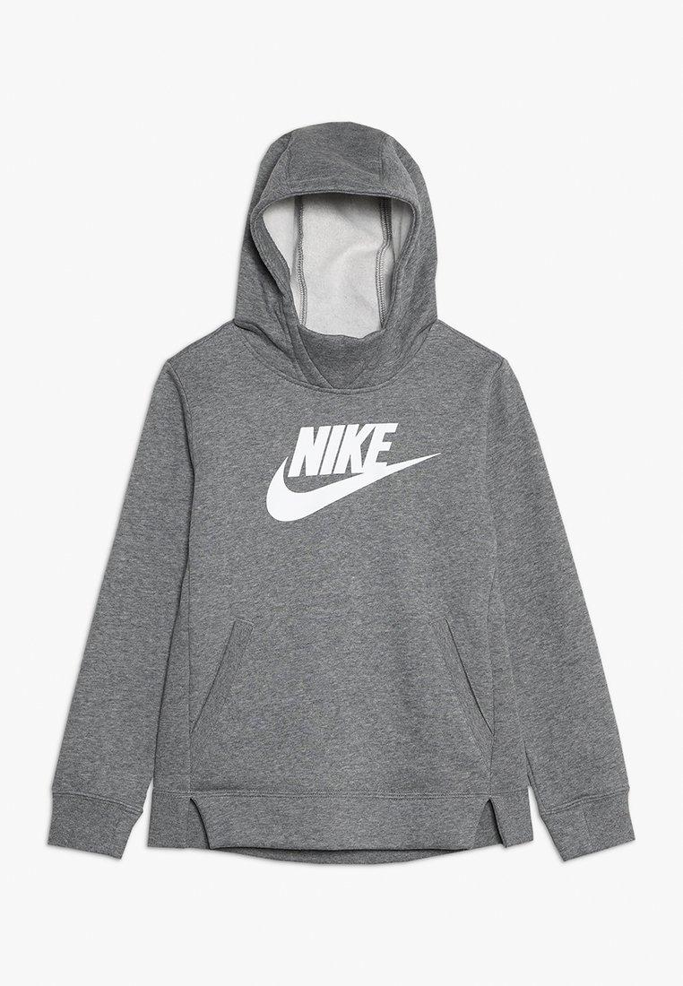 Nike Sportswear - Mikina skapucí - carbon heather/white