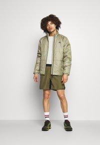adidas Performance - BASIC 3 STRIPES INSULATED - Winter jacket - orbit green - 1