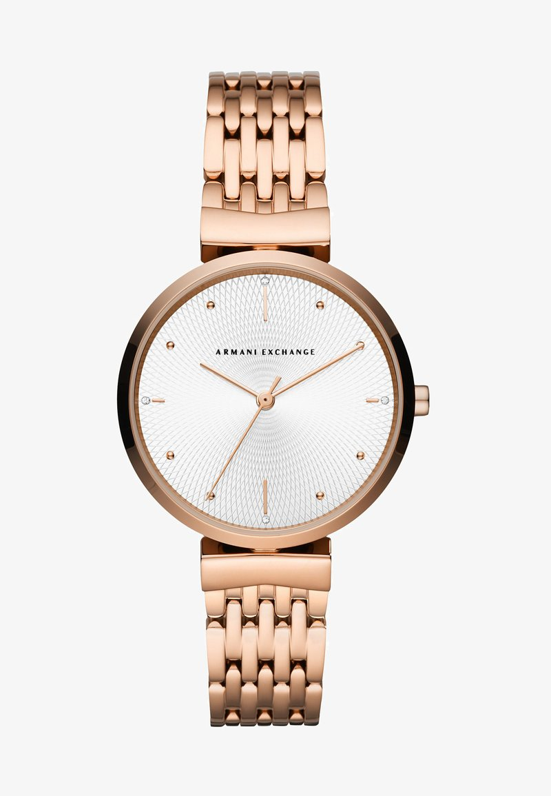Armani Exchange - Watch - rose gold-coloured