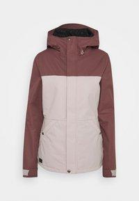 Volcom - BOLT INS JACKET - Snowboardová bunda - faded pink - 0