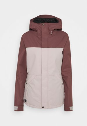 BOLT INS JACKET - Snowboard jacket - faded pink