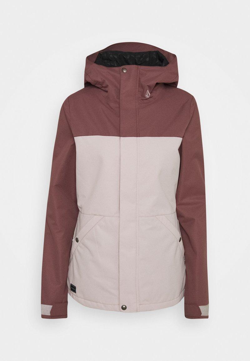 Volcom - BOLT INS JACKET - Snowboardová bunda - faded pink