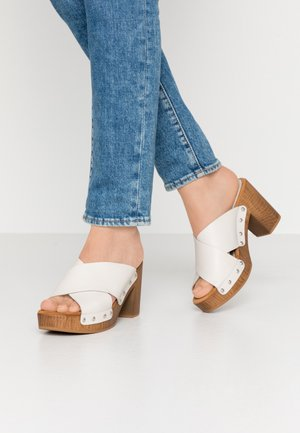 TAPIA - Clogs - ivory