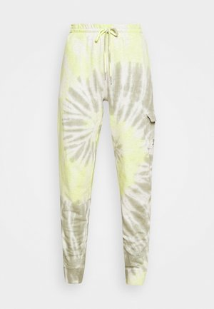 TIE DYE PULL ON - Tracksuit bottoms - absinthe/herb