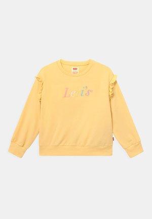 BALLOON SLEEVE CREW - Sweatshirt - golden haze