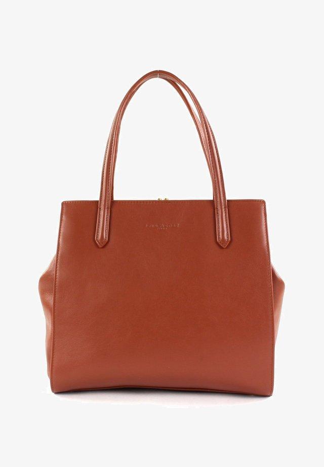 NINA - Handbag - cognac