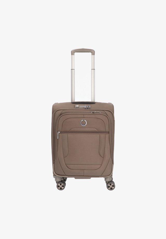 HELIUM DLX  - Wheeled suitcase - mokka