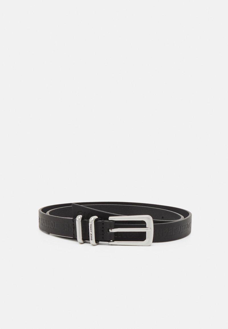 Tommy Jeans - ESSENTIAL BELT - Belt - black