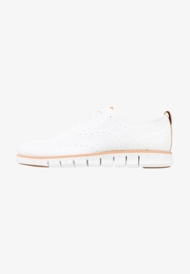 ZEROGRAND STITCHLITE OXFORD - Chaussures à lacets - optic white/white