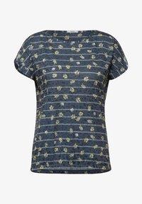 Cecil - Print T-shirt - blau - 3