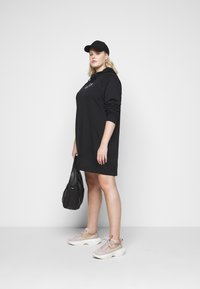 Nike Sportswear - DRESS - Day dress - black/sail - 1