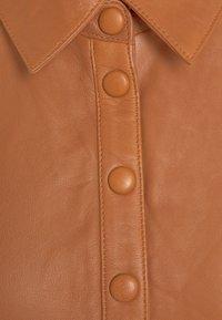 YAS - YASRUVENDA DRESS ICON - Shirt dress - tortoise shell - 2