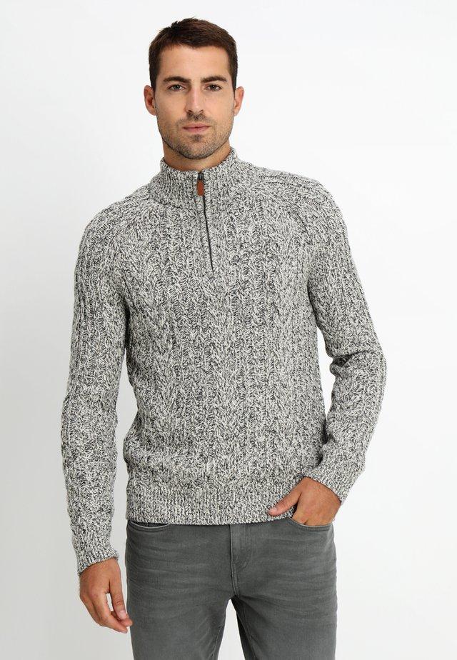 Pullover - hellgrau-meliert