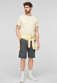 s.Oliver - Print T-shirt - yellow - 1