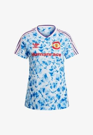INTERNATIONAL MANCHESTER - Sports shirt - weissblaurot