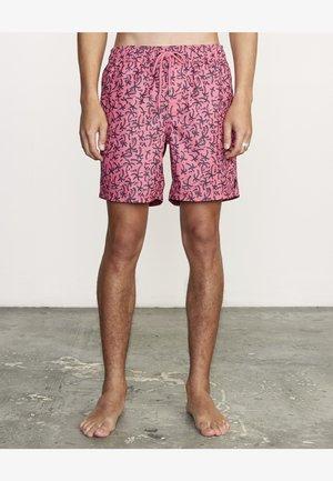 Short de bain - retro pink