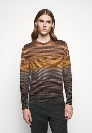 LONG SLEEVE CREW NECK - Maglione - multi-coloured